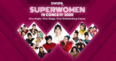 "AWARE presents ""Superwomen in Concert"" (SHOW CANCELLED)"