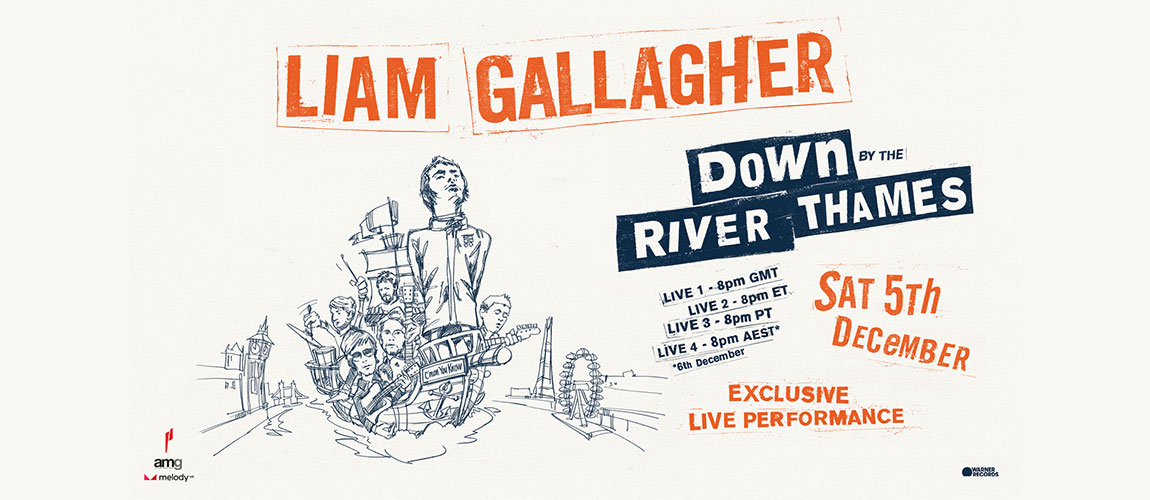 Liam Gallagher: Down by the River Exclusive MelodyVR performance (ASIA)