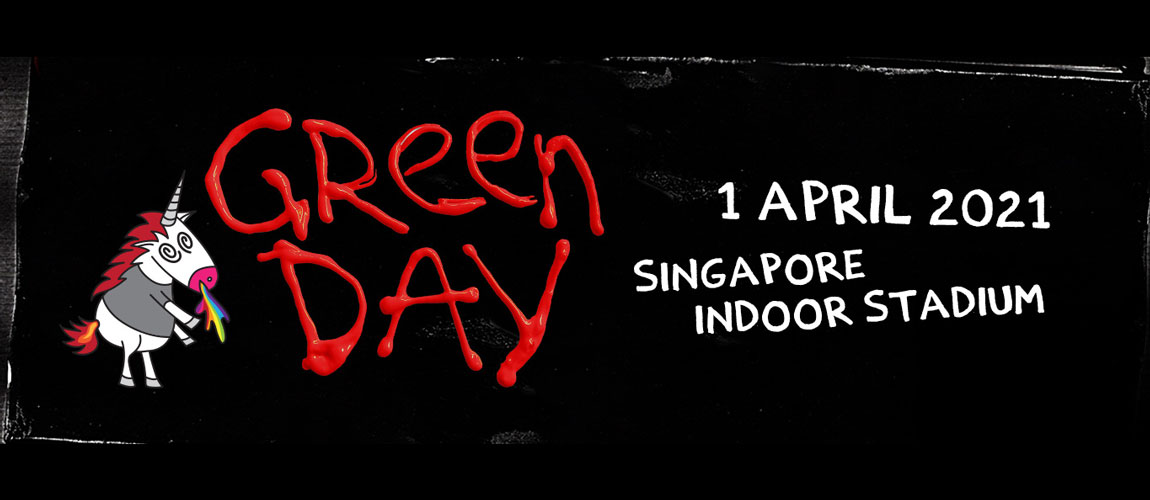 Green Day - Live in Singapore (SHOW CANCELLED)