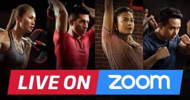 Fitness First: Virtual Studio live on Zoom