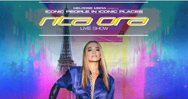 Rita Ora At The Eiffel Tower