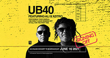 UB40 featuring Ali Campbell & Astro: Global Live Online Concert